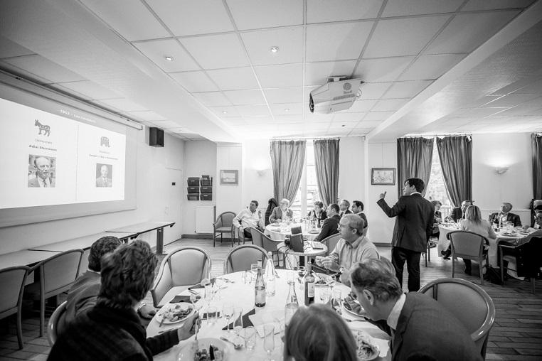 Stéphane Jacquemet - Vendredi 14 octobre 2016 - Rotary Levallois - Conférence La publicité télévisée dans les élections présidentielles américaines - © Collection privée - Photographe : Edouard Meyer - Deyer Studio - DR.