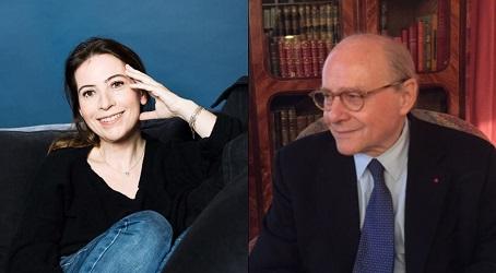 Vendredi 10 mars 2017 – 12 : 15 – Levallois…<br>Conférence &#8211; Anne Goscinny et Alain Pompidou</br>