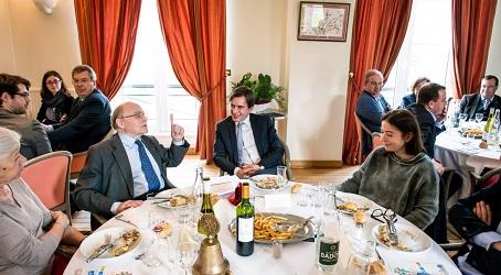 Les réactions – Levallois – 10 mars 2017…<br> Débat entre Anne Goscinny et Alain Pompidou</br>