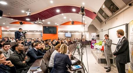 Les réactions – Levallois – 21 mars 2017…<br> L'ambition : un élan pour l'initiative économique</br>