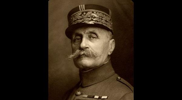 Le Maréchal Foch en 1921