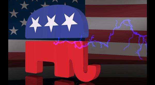 L'éléphant, symbole historique du parti républicain américain (GOP)